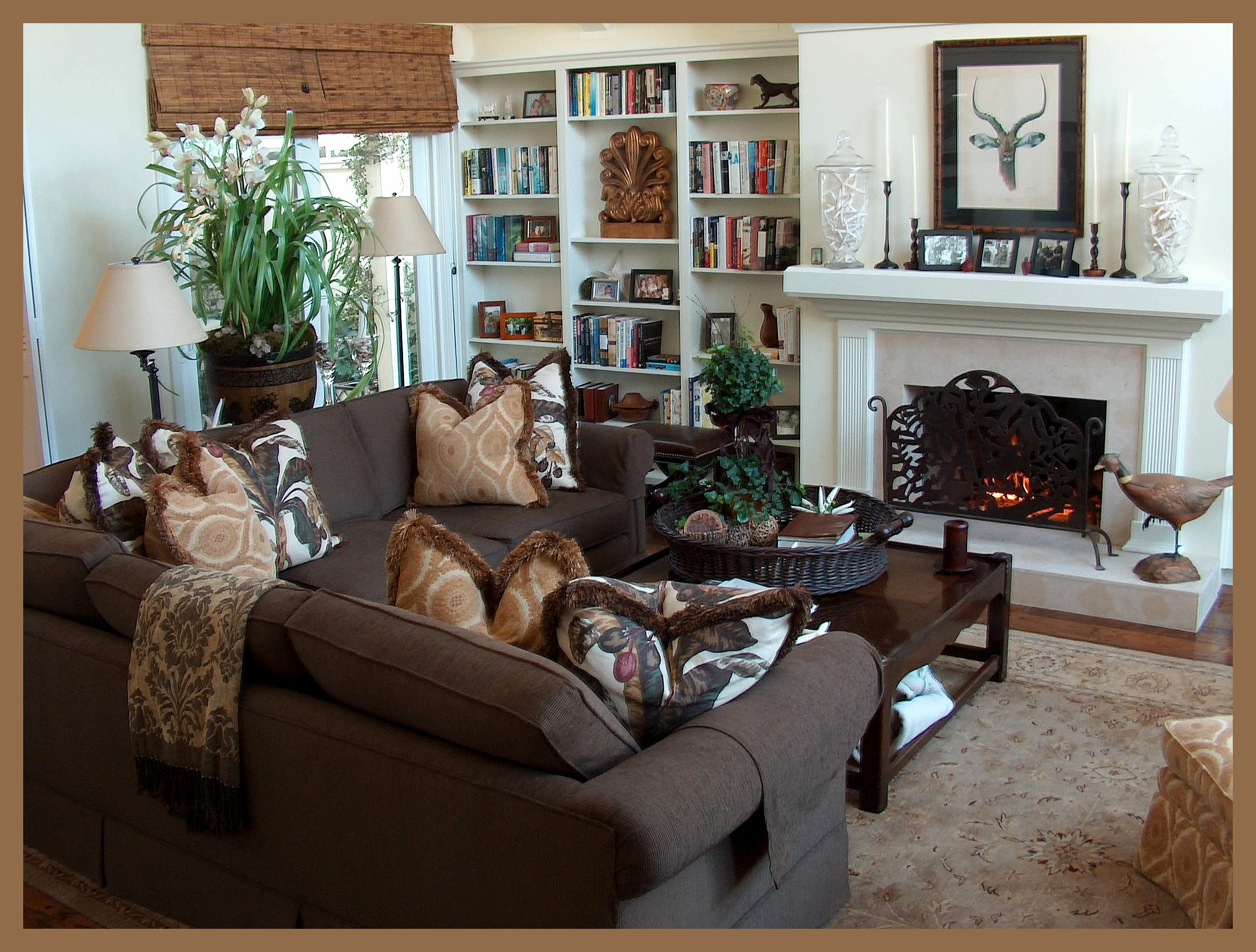 Donald b lane interiors blog archive family room for How decorate family room